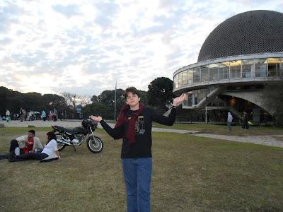 Buenos Aires; viajando pela America Latina; Planetário Galileo Galilei;