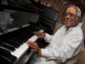 Legendary southern film music director M.S. Viswanathan