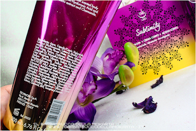 review crema corpo sublimity Tns Cosmetics