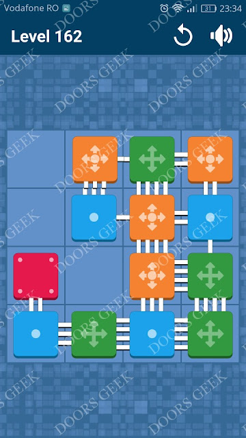 Connect Me - Logic Puzzle Level 162 Solution, Cheats, Walkthrough for android, iphone, ipad and ipod