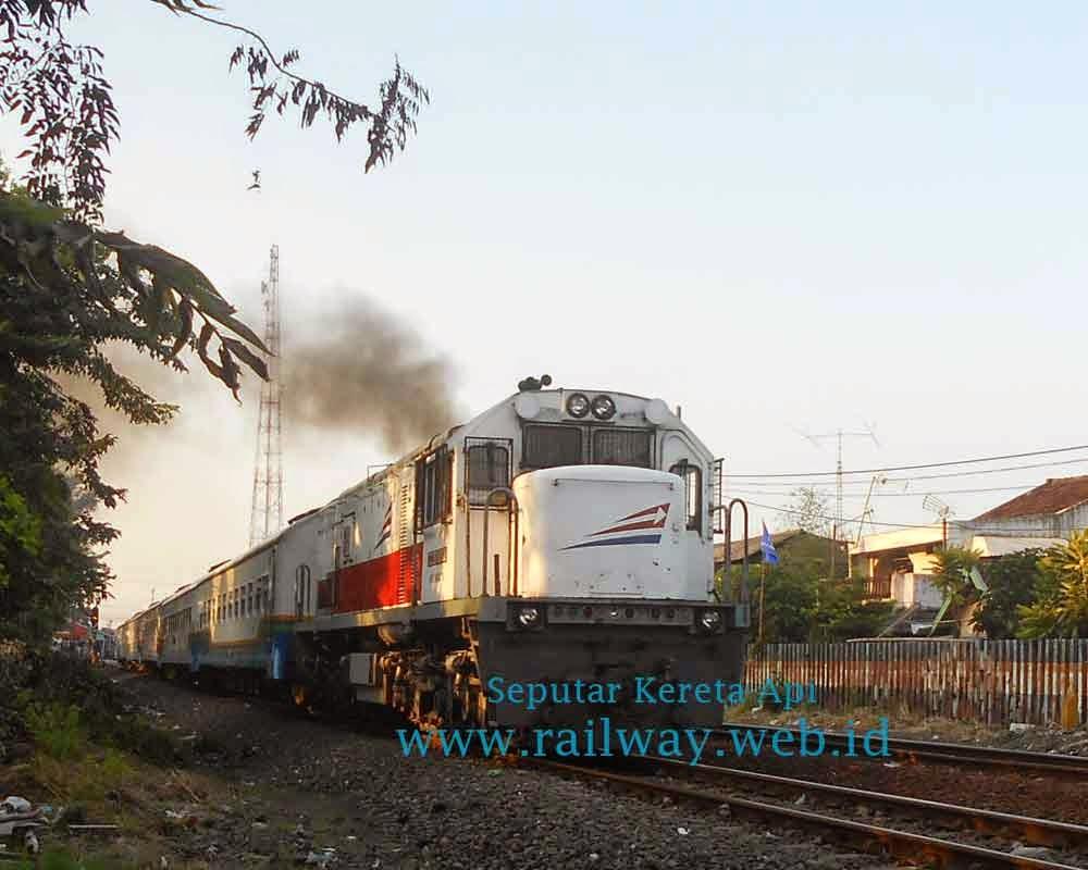 nama kereta api ekonomi dan bisnis