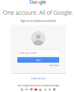open google gmail email account