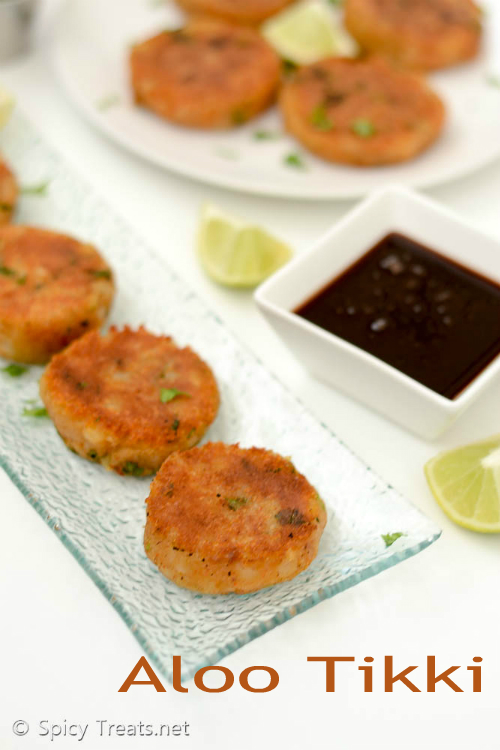 Aloo Tikki Snack Recipe