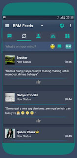 Download BBM Mod Kryptonite v3.2.0.6 Apk Terbaru