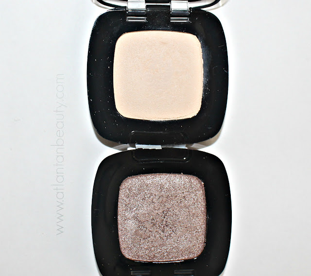 L;oreal Colour Riche Mono Shadows in Paris Beach and Pain Au Chocolat