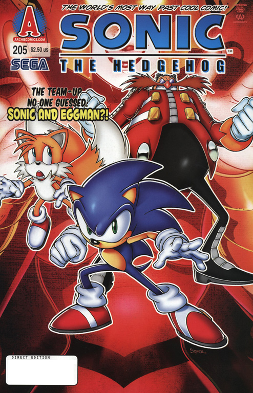 Sonic The Hedgehog (1993) 205 Page 1