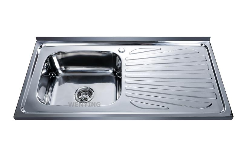 Stainless Steel Kitchen Sink Manufacturer: WY-10050B Bangladesh