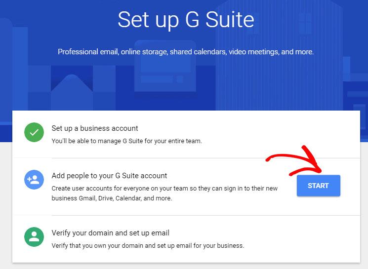 Menambahkan Akun Email untuk Anggota Tim