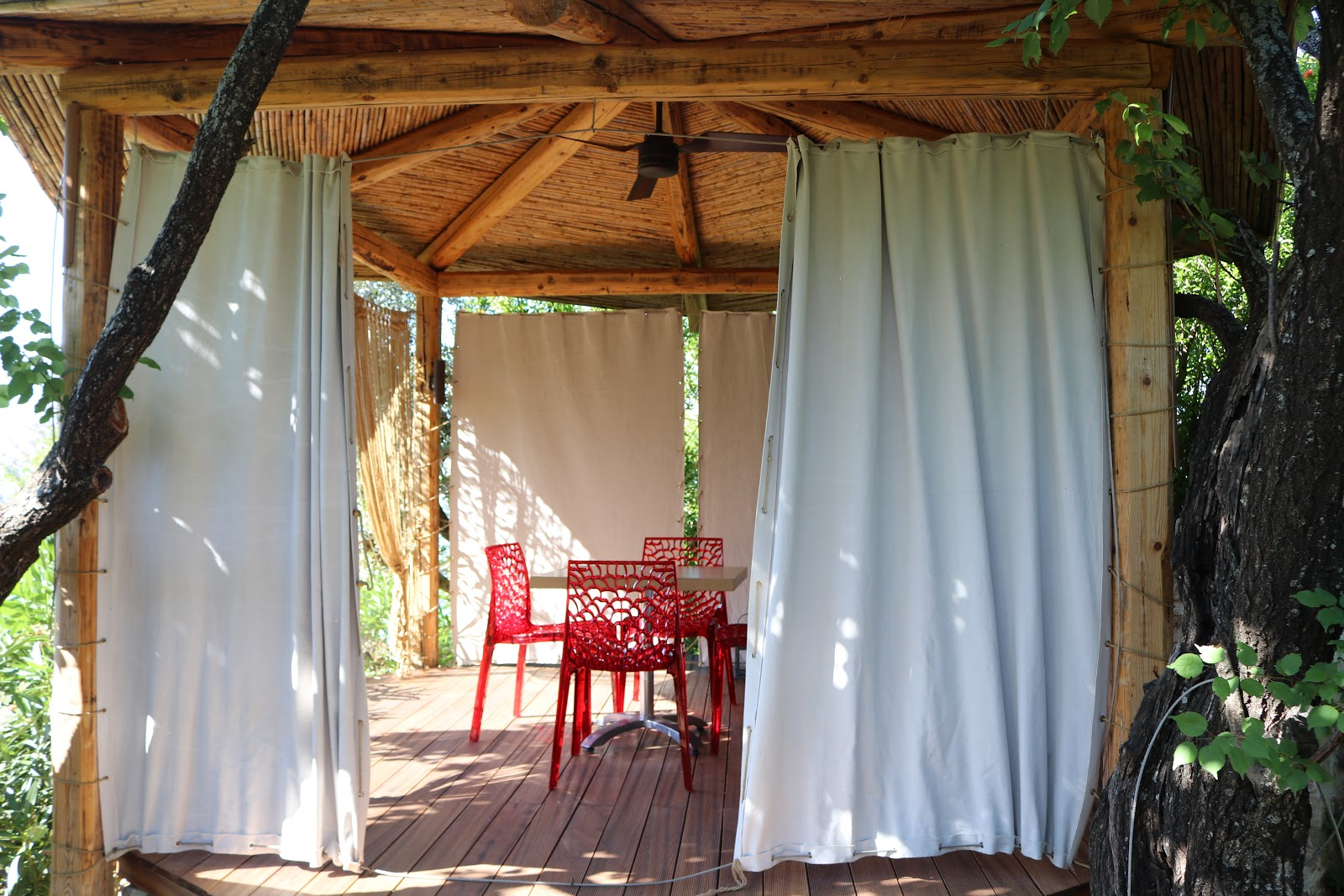 Private Dining area, F Zeen Resort, Unique Villas, Kefalonia