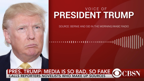 Trump lashes out at New York Times reporter in latest attack on press