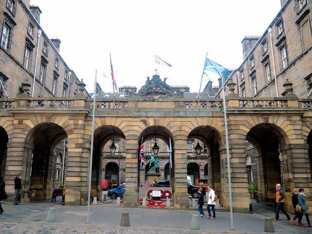 City Chambers, Royal Mile, Edinburgh