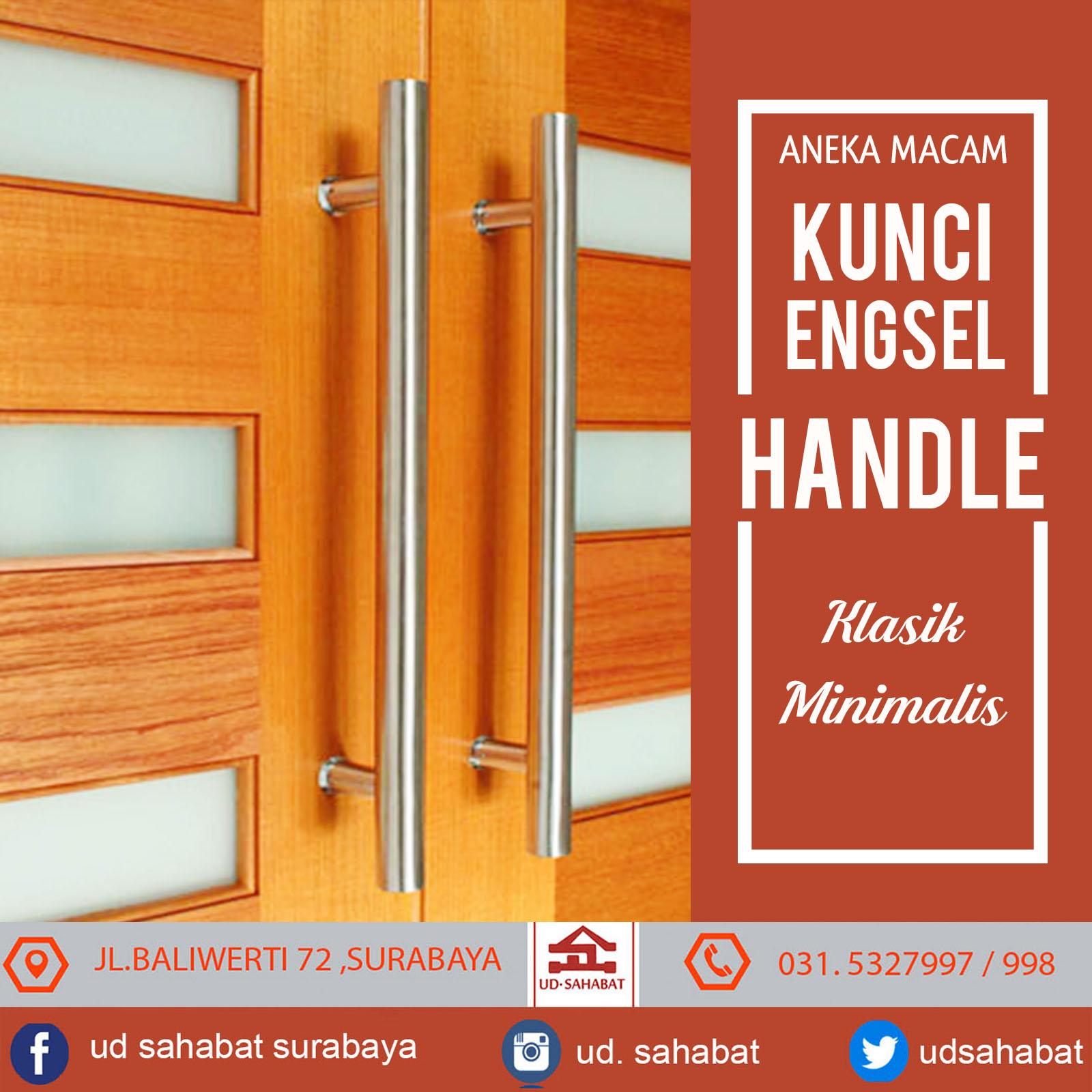 jual handle pintu stainless surabaya