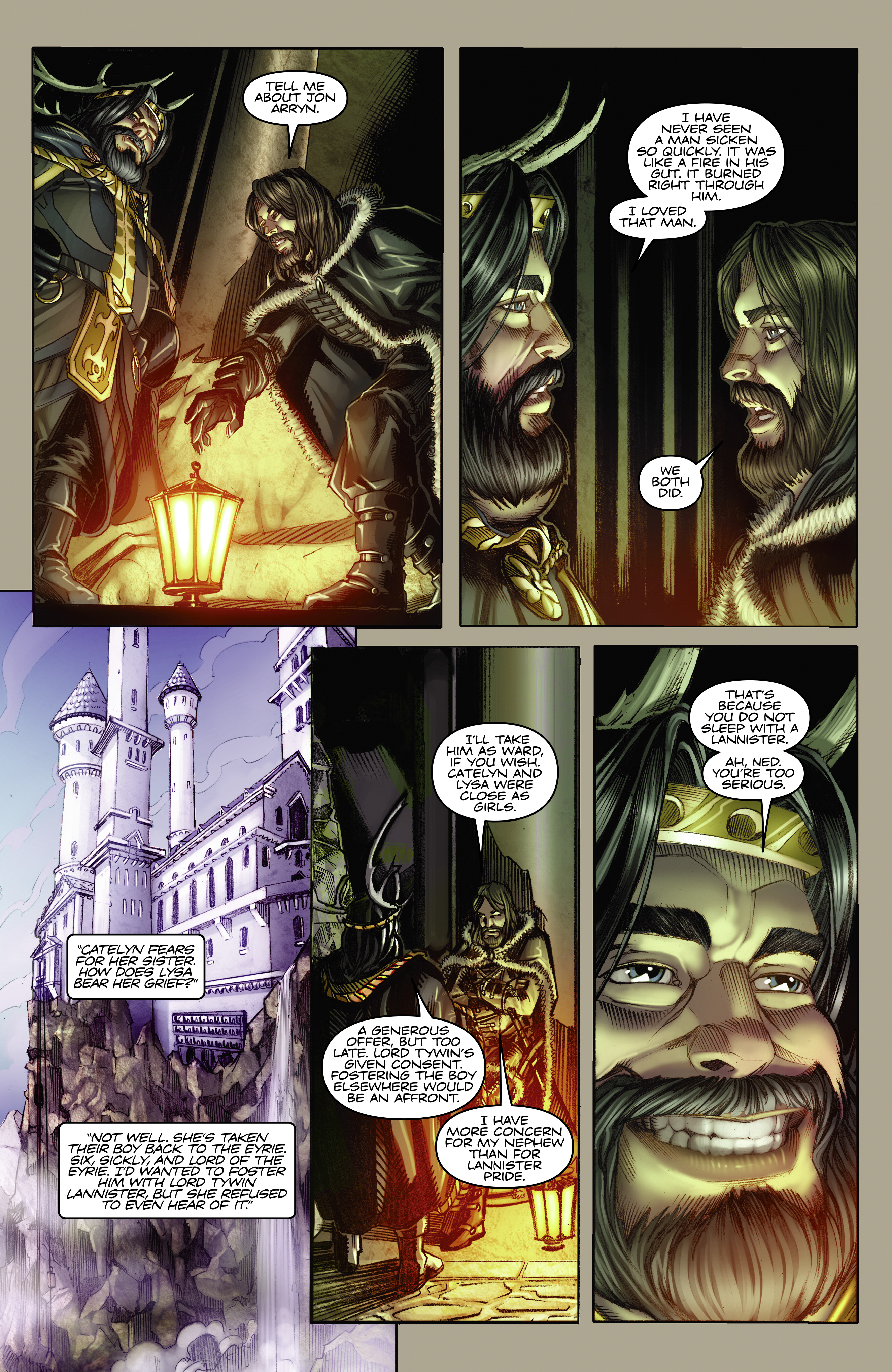 Read online A Game Of Thrones comic -  Issue #2 - 8