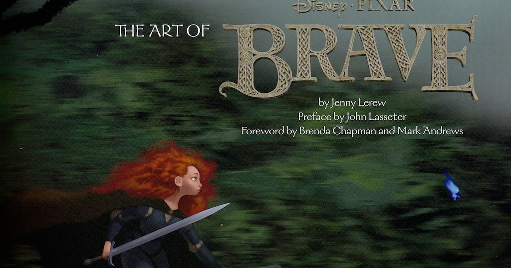 Our First Official Contest Win The Art Of Brave Book Pixar Post