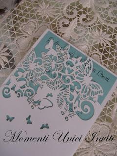 IMG_5347 Partecipazione perlescente con farfalle intagliatePartecipazioni intagliate Tema Farfalle