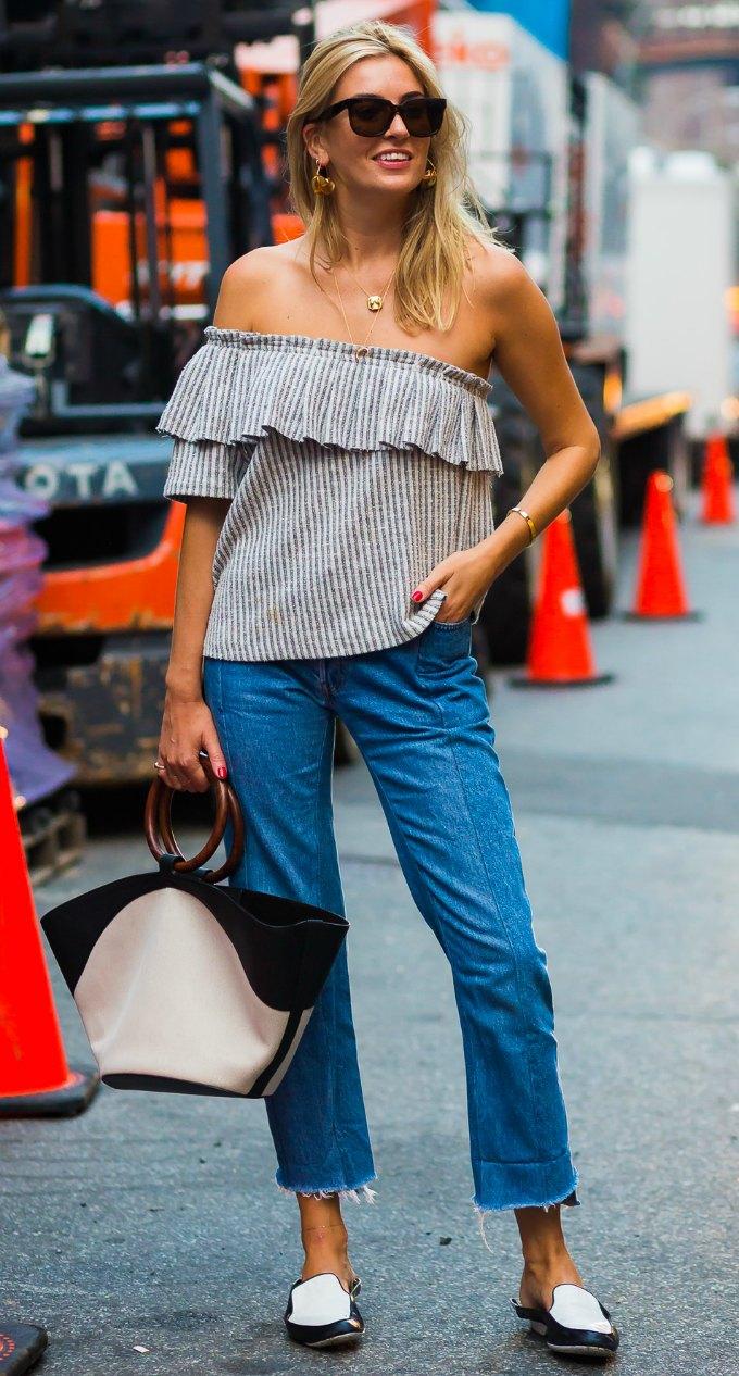 Looks com calça jeans cropped