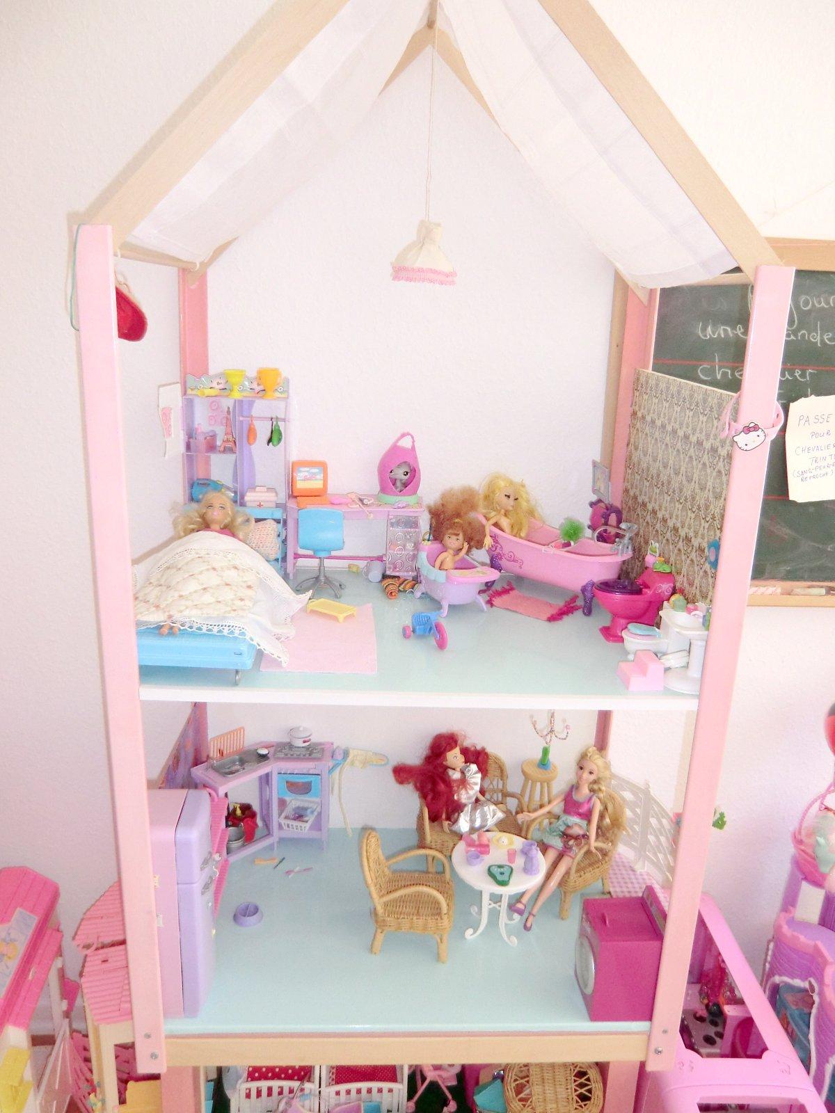 update barbie haus. Black Bedroom Furniture Sets. Home Design Ideas