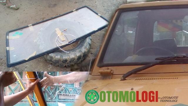 Cara Mudah Buka Pasang Kaca Cermin Mobil Car Glass Installing