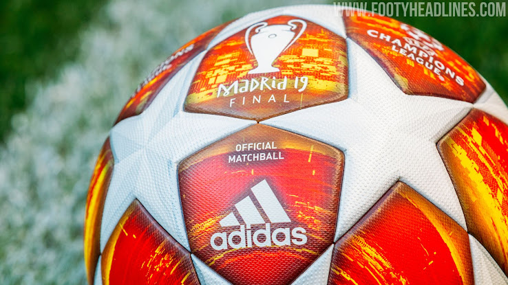 faa77556bbb Adidas 2019 Champions League Madrid Final Ball Revealed - Footy ...