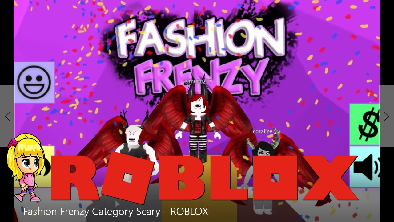 Roblox Fashion Frenzy Category Scary Gamelog   Chloe Tuber Roblox Fashion Frenzy Category Scary