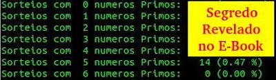 Segredo dos números primos para acertar na Dupla Sena