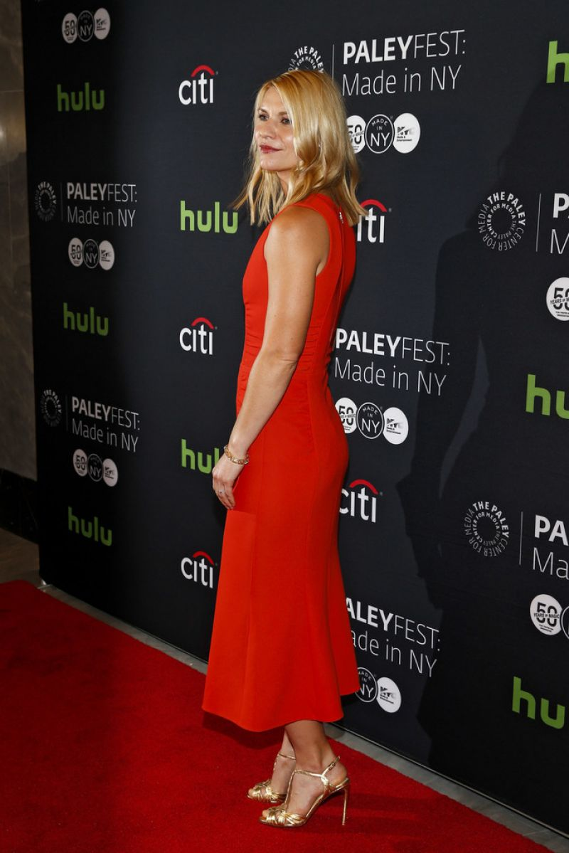 Claire Danes at Paleyfest Made in New York