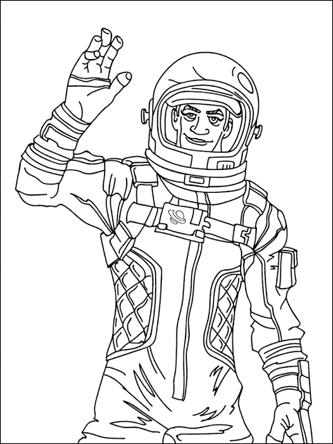 Best Fortnite Coloring Pages Printable
