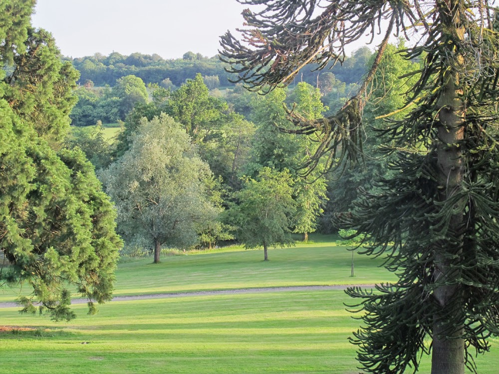 Ashdown Park Hotel garden