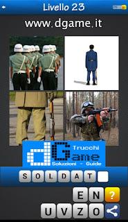 PACCHETTO 5 Soluzioni Trova la Parola - Foto Quiz con Immagini e Parole soluzione livello 23