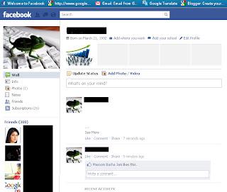 Blank Facebook Status Update Template For blank status update:- 1.