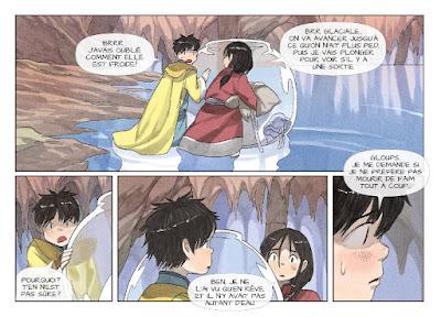 Kushi tome 4 - La fille du vent - Kushi et Tilik doivent sortir de la caverne sous-terraine