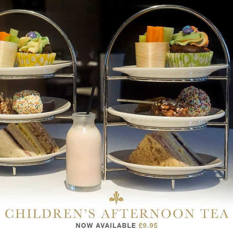 10 Places you can book Children's Afternoon Tea in North East England - Vermont Hotel Newcaslte