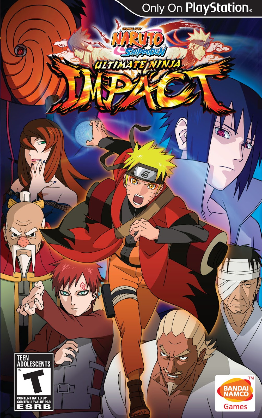 Naruto Shippuden Ultimate Ninja Impact Download ISO PSP