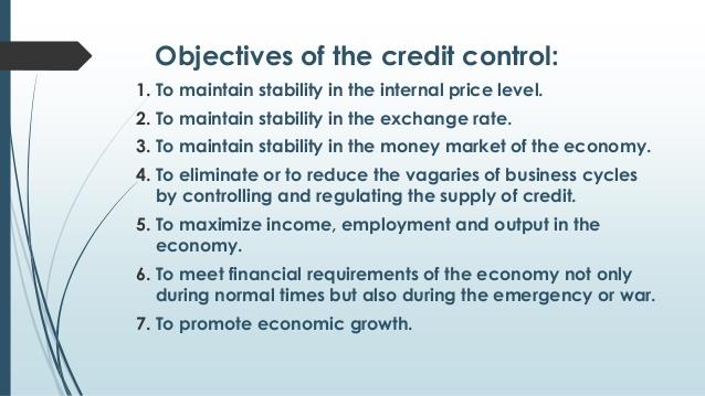 credit control