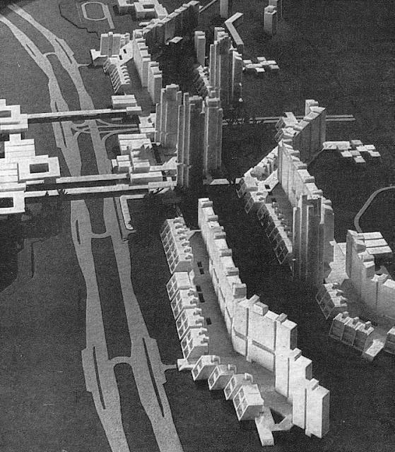 Таким представляли себе архитекторы и градостроители Советской Латвии район Краста.