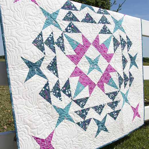 Cosmos Quilt Free Pattern