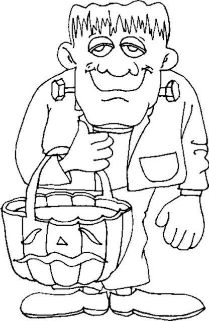 Free Halloween Coloring Pages Halloween Celebration