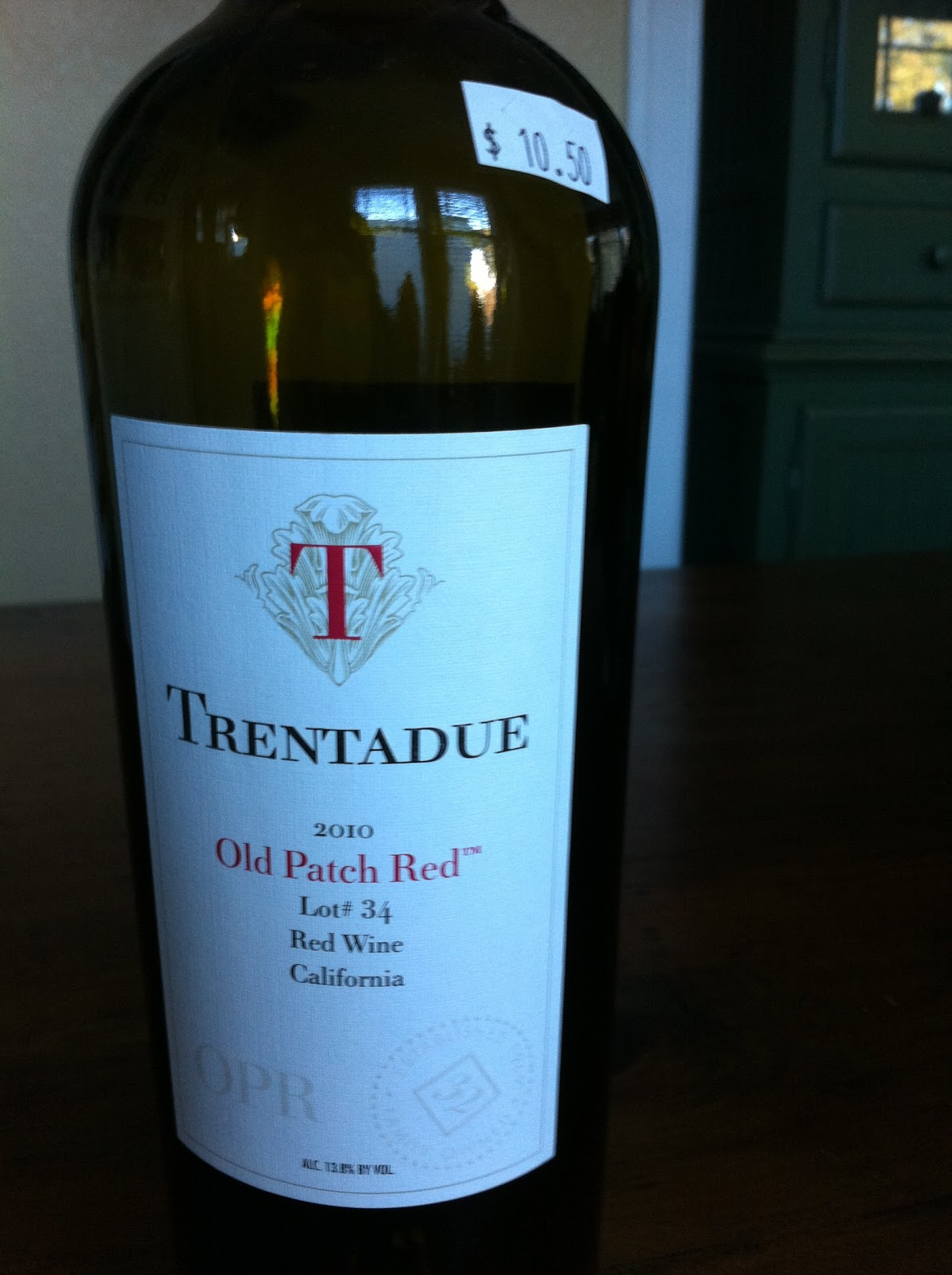 Catalog | 2016 trentadue winery old patch red wine lot #44.