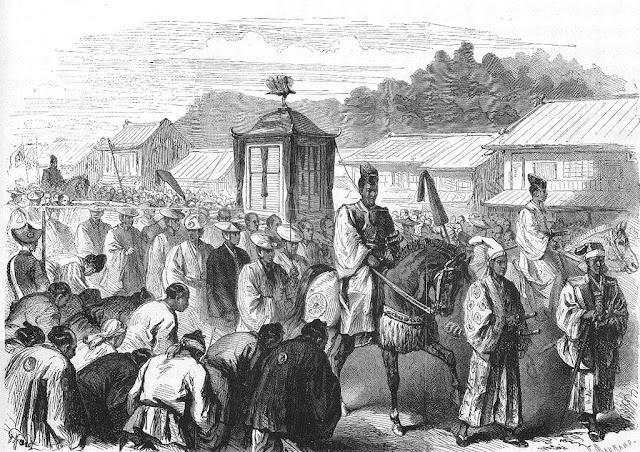 Emperor Meiji Moving to Tokyo