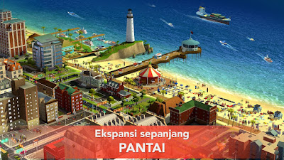 Tampilan Game SimCity Buildit