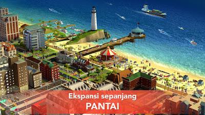 Tampilan Game SimCity Buildit