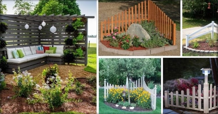 Awesome corner fence decor ideas that add glam to your for 4 h decoration ideas