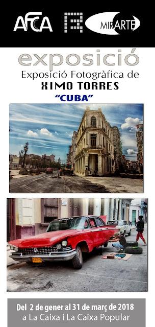 """MirARTE amb l'exposició """"CUBA"""" de Ximo Torres."""
