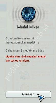 Medal Mixer LostSaga Indonesia
