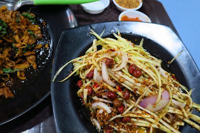 Sap Thai Food, som tam mamuang