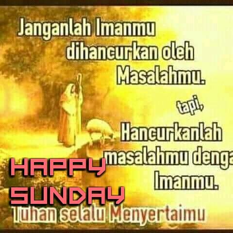 Kumpulan Gambar Kata Kata Selamat Hari Minggu Kristen