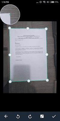 Cara Scan Lamaran Kerja Lewat HP Dengan Aplikasi CamScanner