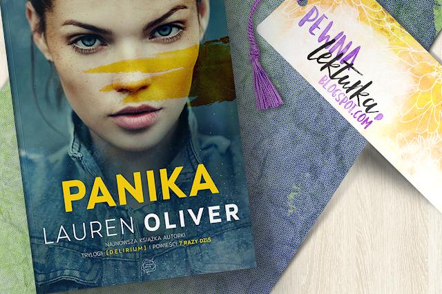 Panika - Lauren Oliver - recenzja pewnalekturka