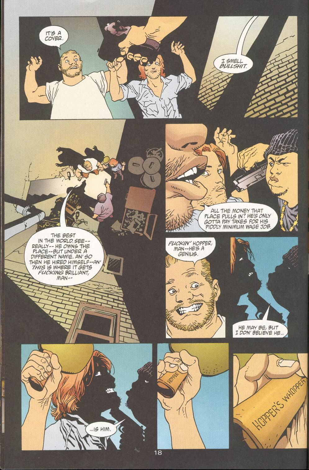 Read online 100 Bullets comic -  Issue #28 - 20