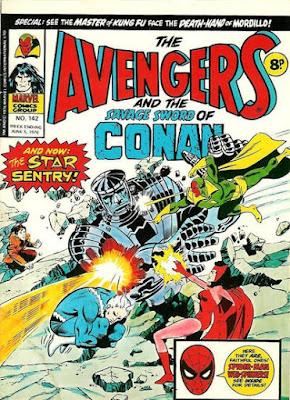 Marvel UK, Avengers #142, the Sentry